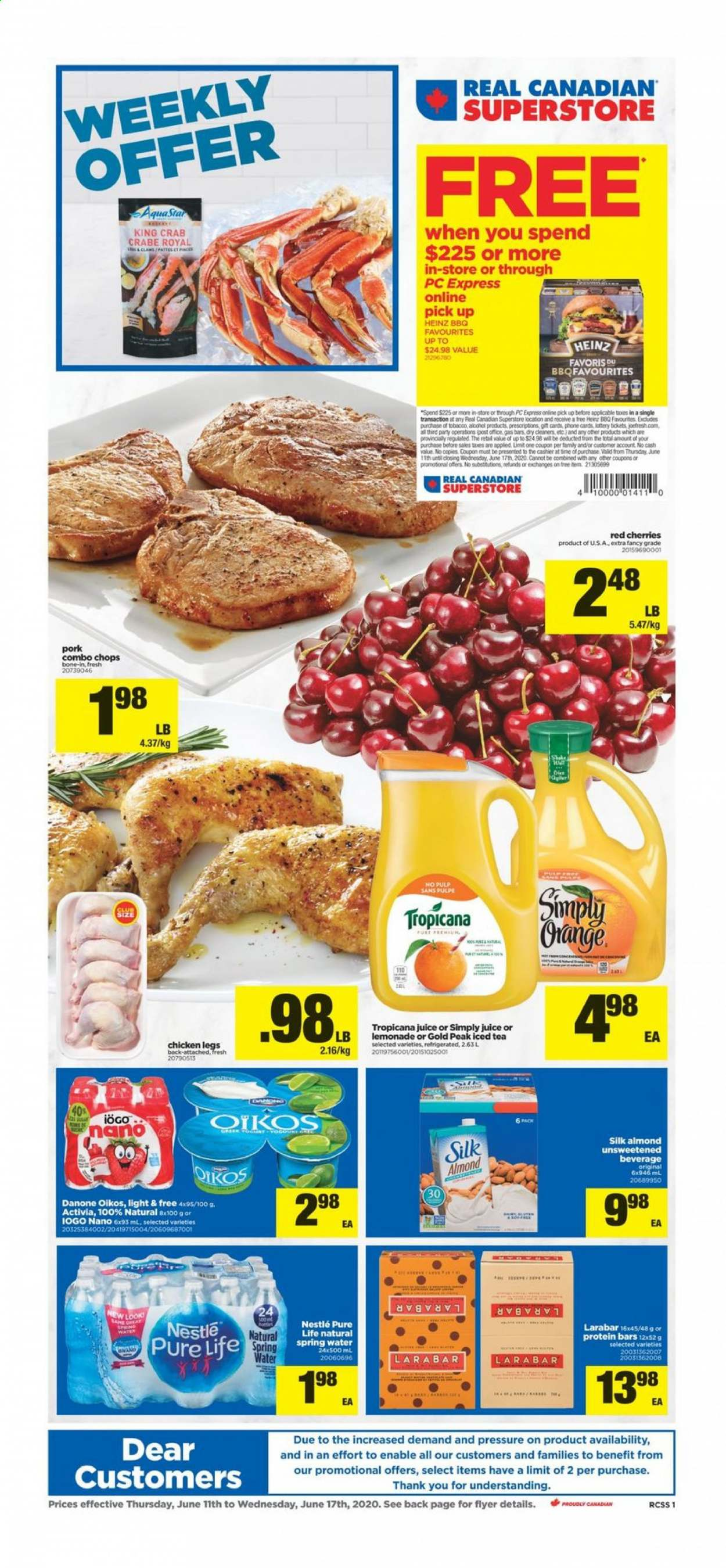 Real Canadian Superstore Flyer  - June 11, 2020 - June 17, 2020. Page 1.