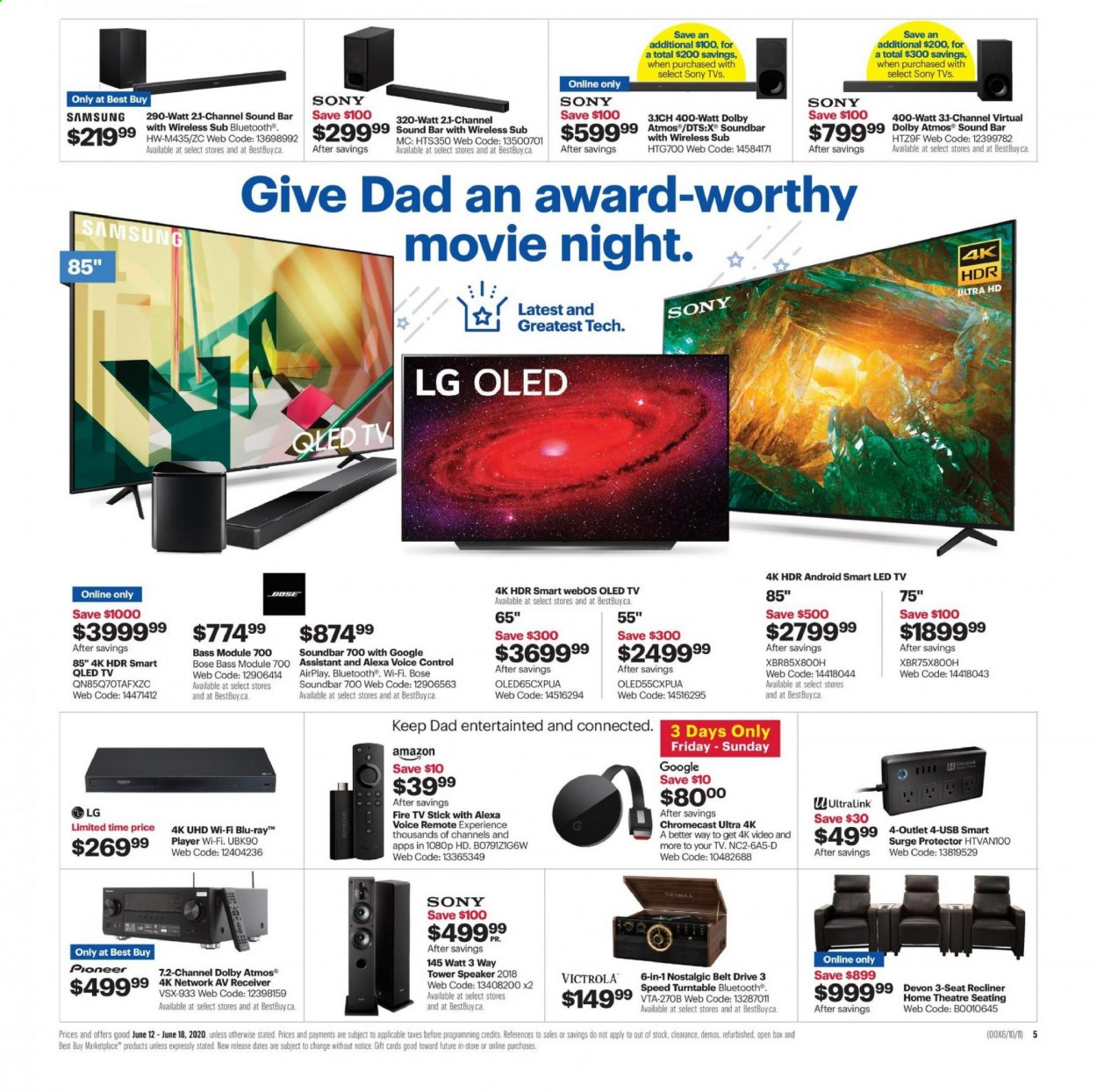 Best Buy Flyer June 12 2020 June 18 2020 Page 7 Canadian Flyers