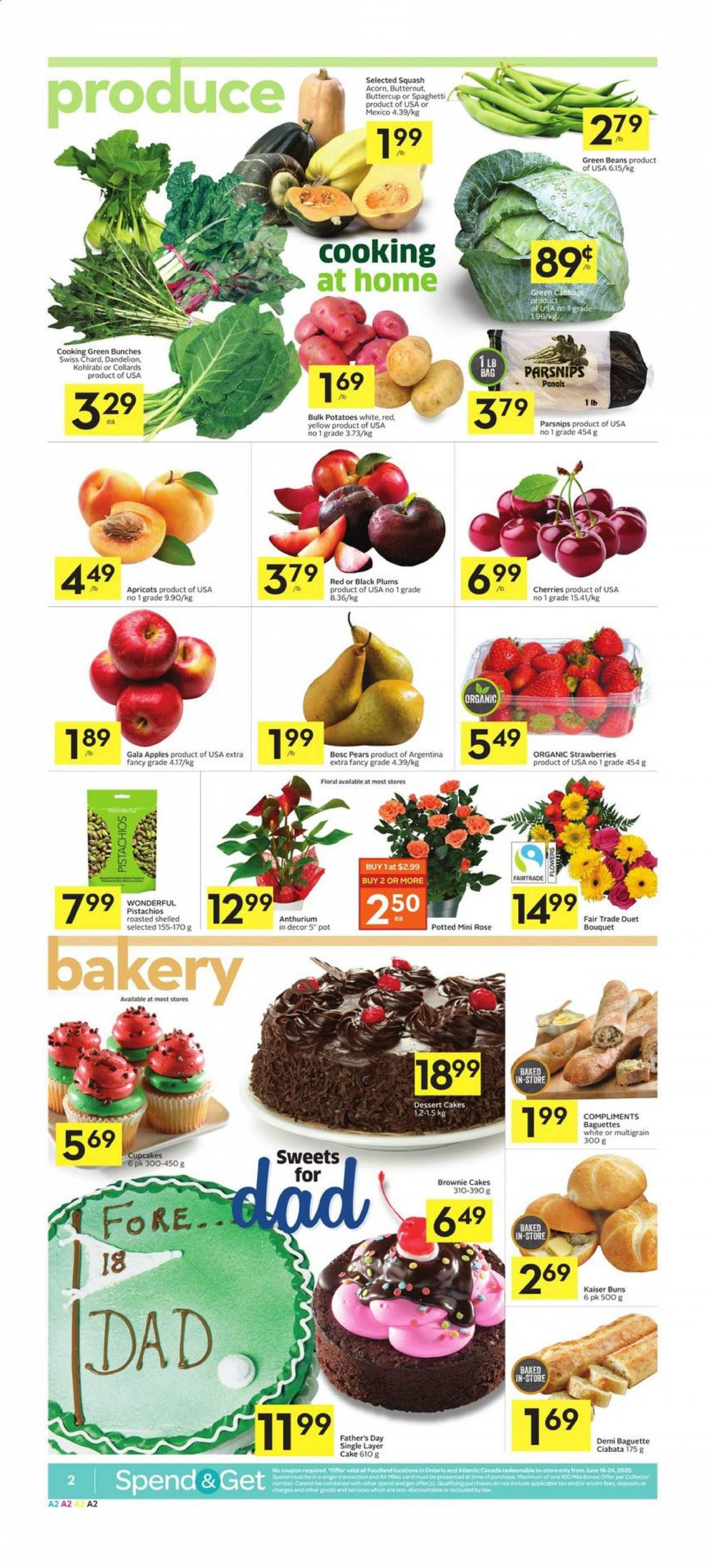 Foodland Flyer  - June 18, 2020 - June 24, 2020. Page 2.