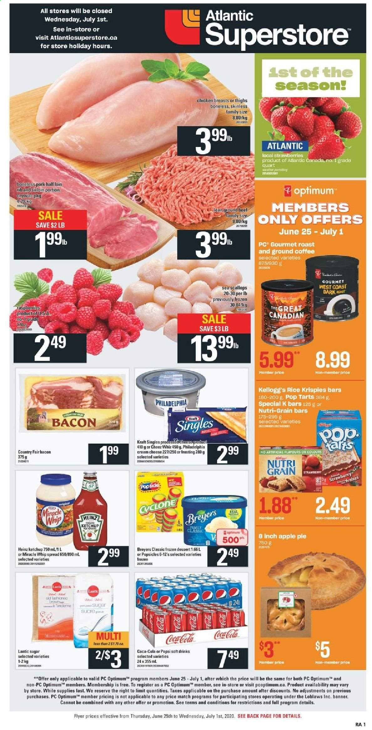 Atlantic Superstore Flyer  - June 25, 2020 - July 01, 2020. Page 1.