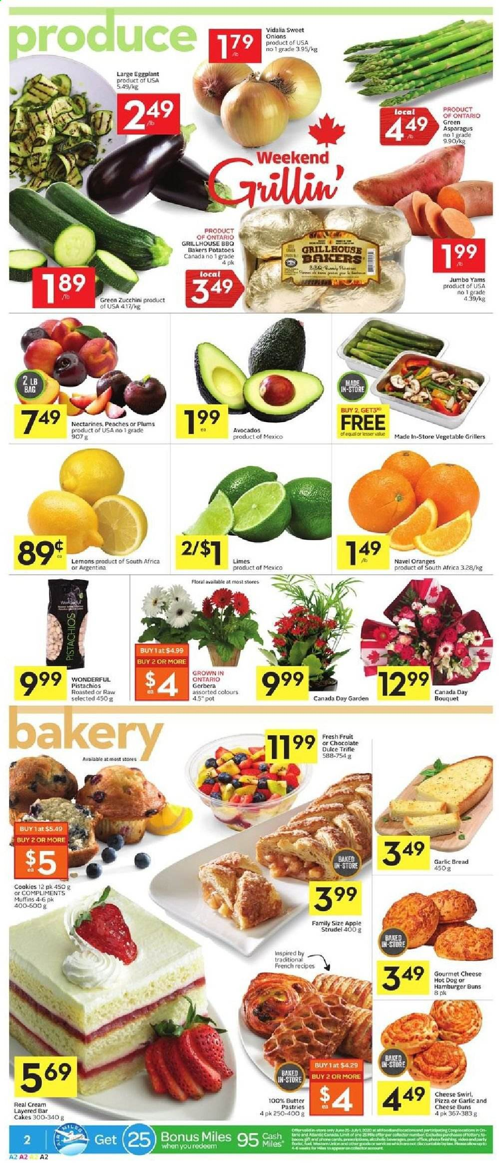 Foodland Flyer  - June 25, 2020 - July 01, 2020. Page 2.