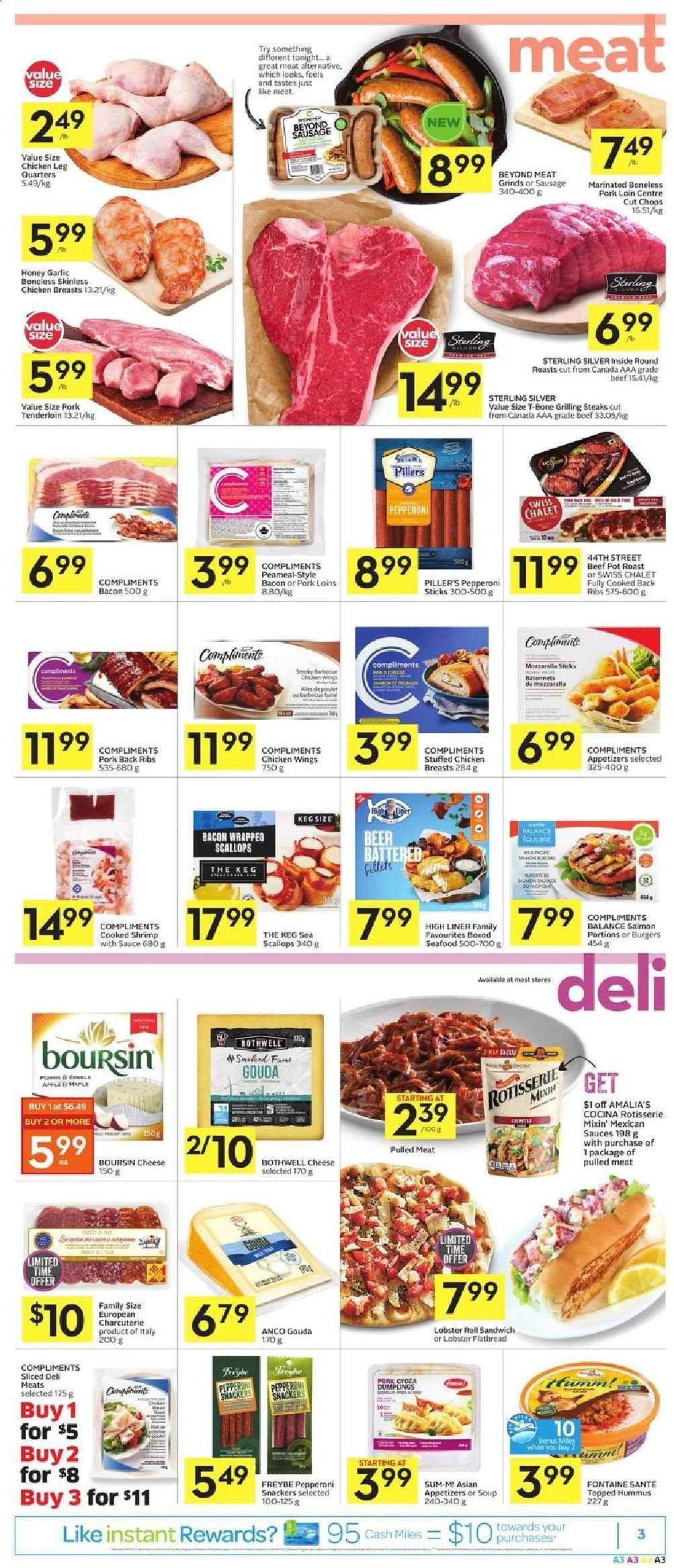 Foodland Flyer  - June 25, 2020 - July 01, 2020. Page 3.