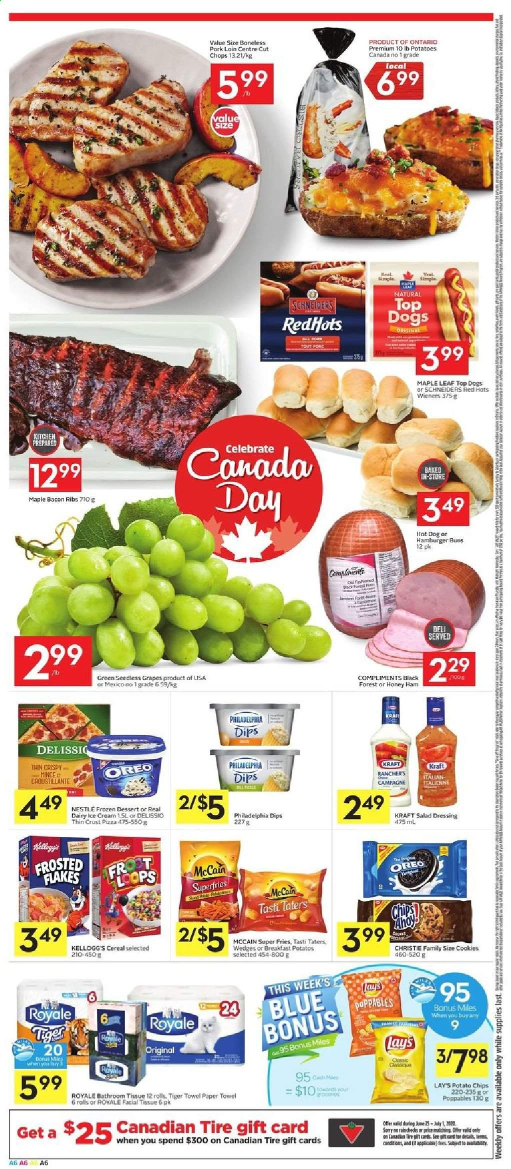 Foodland Flyer  - June 25, 2020 - July 01, 2020. Page 6.