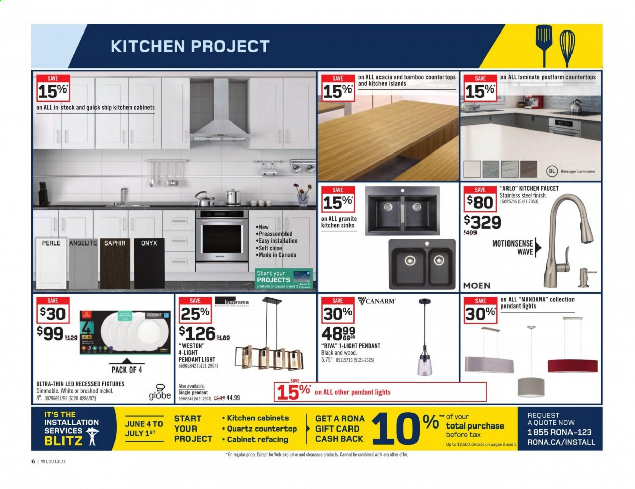 Rona Flyer June 25 2020 July 01 2020 Page 6 Canadian Flyers