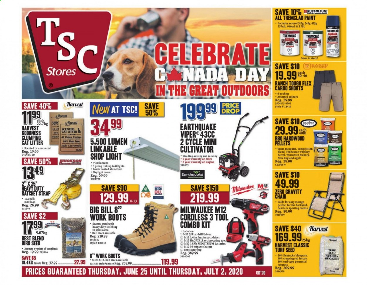 TSC Stores Flyer  - June 25, 2020 - July 02, 2020. Page 1.