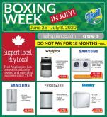 Trail Appliances Flyer - June 25, 2020 - July 08, 2020.