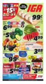 IGA Flyer - July 09, 2020 - July 15, 2020.