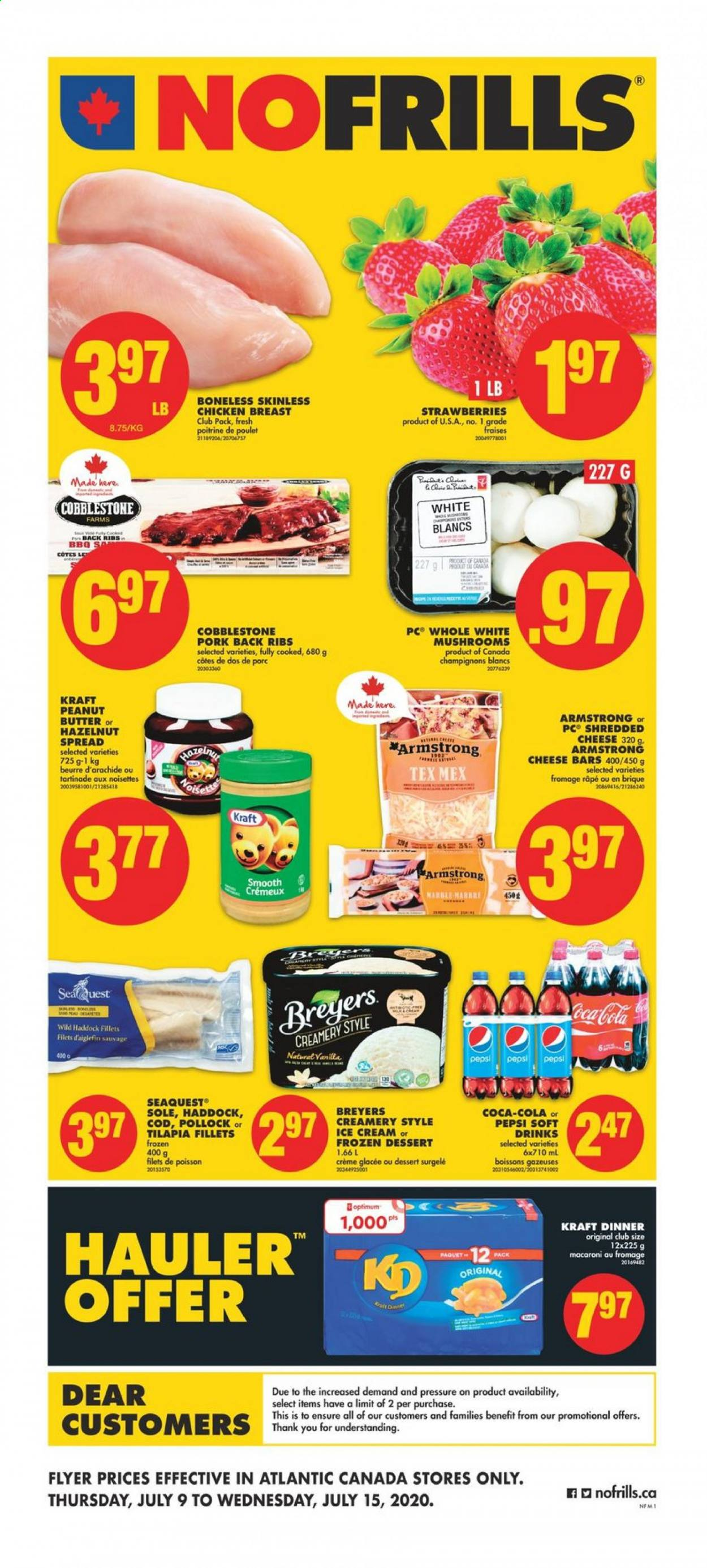 No Frills Flyer  - July 09, 2020 - July 15, 2020. Page 1.