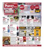 Peavey Mart Flyer - July 09, 2020 - July 19, 2020.
