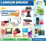 London Drugs Flyer - July 10, 2020 - July 15, 2020.