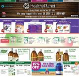 Healthy Planet Flyer - July 16, 2020 - August 22, 2020.