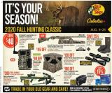 Bass Pro Shops Flyer - August 06, 2020 - August 26, 2020.