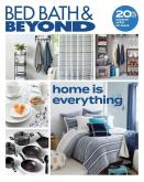 Bed Bath & Beyond Flyer - August 03, 2020 - August 16, 2020.