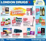 London Drugs Flyer - August 14, 2020 - August 19, 2020.