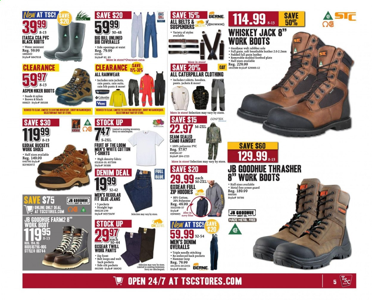 TSC Stores flyer August 14, 2020