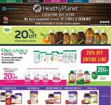Healthy Planet Flyer - August 13, 2020 - September 09, 2020.