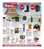 Peavey Mart Flyer - August 20, 2020 - August 26, 2020.