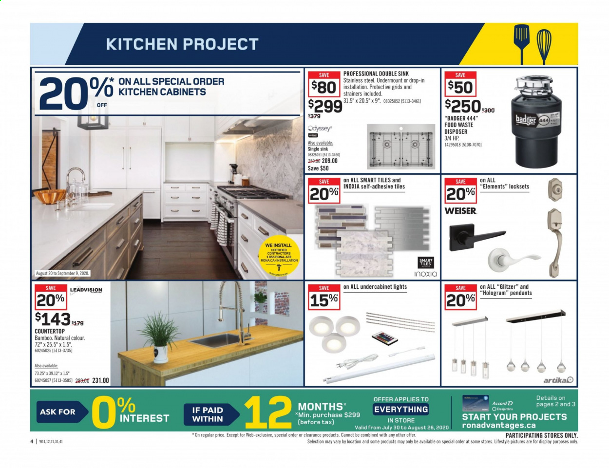 Rona Flyer August 20 2020 August 26 2020 Page 4 Canadian Flyers
