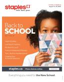 Staples Flyer - August 19, 2020 - August 25, 2020.