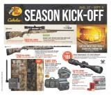 Bass Pro Shops Flyer - August 27, 2020 - September 09, 2020.