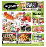 Goodness Me Flyer - August 27, 2020 - September 07, 2020.