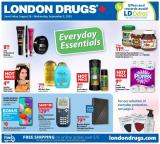 Circulaire London Drugs - 28 Août 2020 - 02 Septembre 2020.
