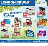 Circulaire London Drugs - 03 Septembre 2020 - 09 Septembre 2020.