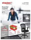 Staples Flyer - September 02, 2020 - September 15, 2020.