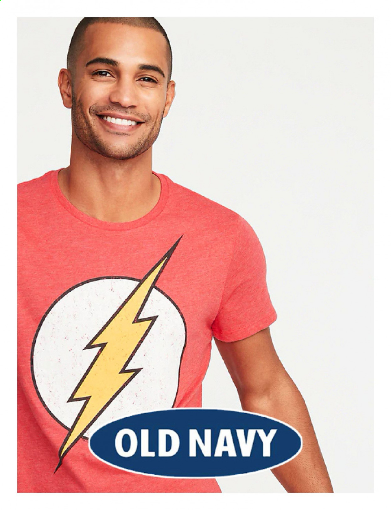 Old Navy Flyer . Page 1.