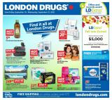 London Drugs Flyer - September 18, 2020 - September 23, 2020.