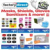 Factory Direct Flyer - September 23, 2020 - September 29, 2020.