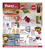 Peavey Mart Flyer - September 24, 2020 - October 01, 2020.