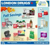 London Drugs Flyer - September 25, 2020 - October 01, 2020.