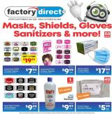 Factory Direct Flyer - September 30, 2020 - October 06, 2020.