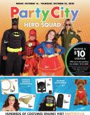 Party City Flyer - October 16, 2020 - October 22, 2020.