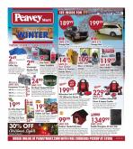 Peavey Mart Flyer - October 15, 2020 - October 25, 2020.