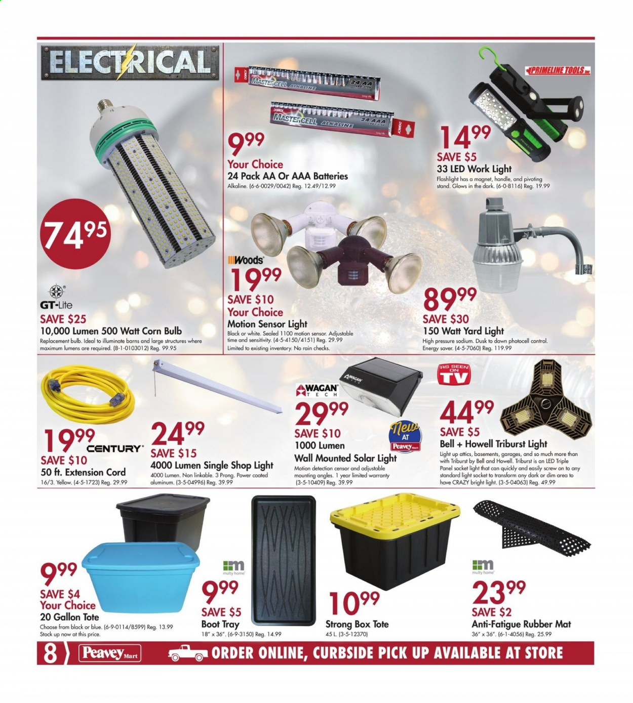 Peavey Mart Flyer October 15 2020 October 25 2020 Page 8 Canadian Flyers