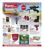 Peavey Mart Flyer - October 22, 2020 - October 28, 2020.