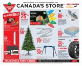 Canadian Tire Flyer - October 30, 2020 - November 05, 2020.