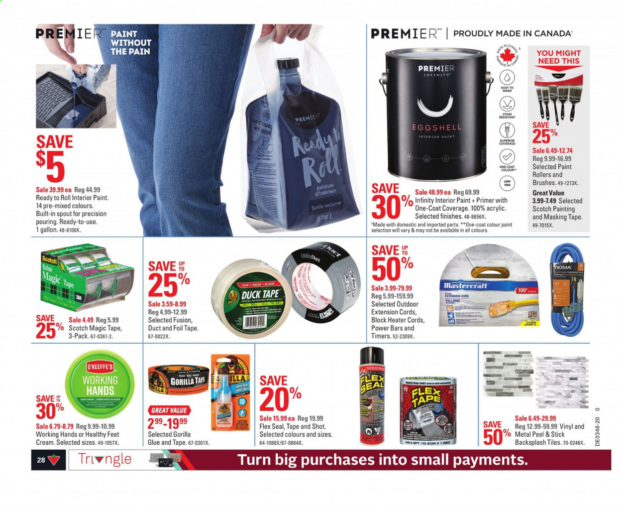 Canadian Tire Flyer November 05 2020 November 11 2020 Page 32 Canadian Flyers
