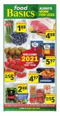 Food Basics Flyer - December 26, 2020 - January 01, 2021.