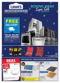 Lowe's Flyer - December 31, 2020 - January 06, 2021.
