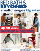 Bed Bath & Beyond Flyer - January 04, 2021 - January 18, 2021.