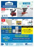 Lowe's Flyer - January 07, 2021 - January 13, 2021.