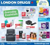 London Drugs Flyer - January 15, 2021 - January 20, 2021.
