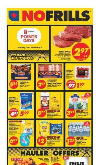 No Frills Flyer - January 28, 2021 - February 03, 2021.