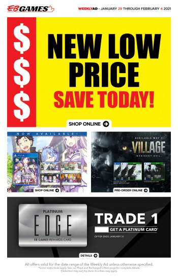 EB Games Flyer - January 29, 2021 - February 04, 2021.