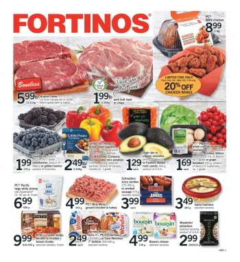 Fortinos Flyer - February 04, 2021 - February 10, 2021.