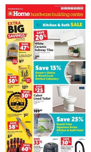 Home Hardware Building Centre Flyer - February 04, 2021 - February 10, 2021.