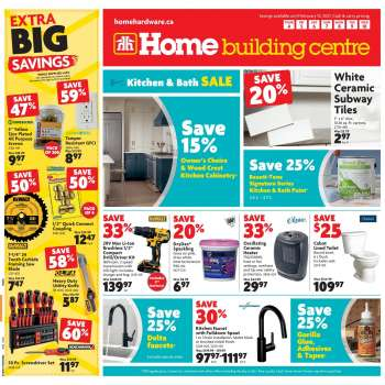 Home Building Centre Flyer - February 04, 2021 - February 10, 2021.